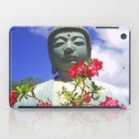 buddah iPad Cases featuring Buddah Serenity by Magmata