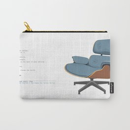 Eames Lounge Chair Carry-All Pouch