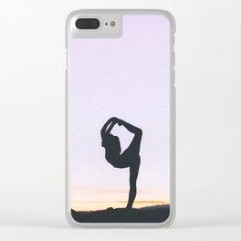 Fine Art Photograph - Yoga Pose Clear iPhone Case