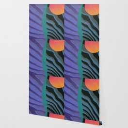 Crepuscular Streams Wallpaper