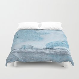 Icy Thunder Duvet Cover