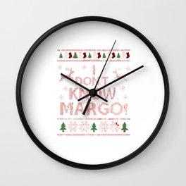 I Don't Know Margo Wall Clock