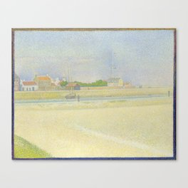The Channel of Gravelines, Grand Fort-Philippe Canvas Print