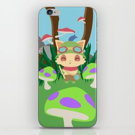 TEEMO iPhone Skin