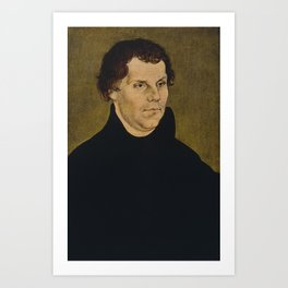 Martin Luther Painting Art Print