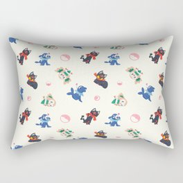 Alolan Starters Rectangular Pillow
