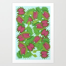 Fly Trap Art Print