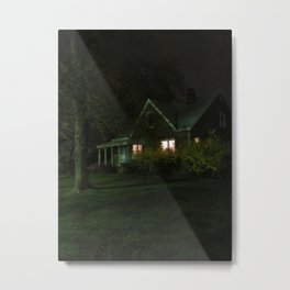 Sitting In An Empty House Metal Print