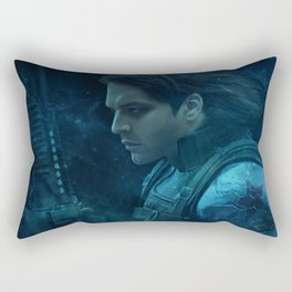 The Winter Soldier (Bucky Barnes) Rectangular Pillow