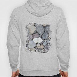Heart Pebble Stone Mineral Love Symbol Hoody