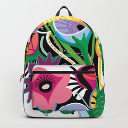Animal Flowers Backpack