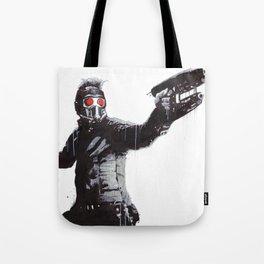 Star-Lord (Peter Quill) Guardians Graffiti Pop Urban Street Art Tote Bag