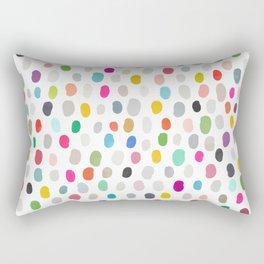 fava 5 sq Rectangular Pillow