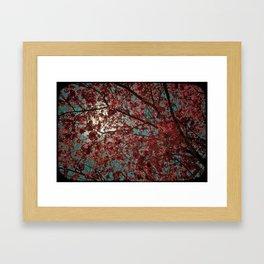 PINKY TREE Framed Art Print