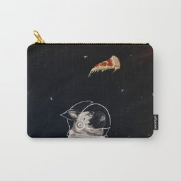 Pug and Pizza Space Carry-All Pouch