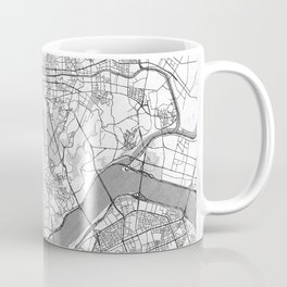 Seoul Map Line Coffee Mug