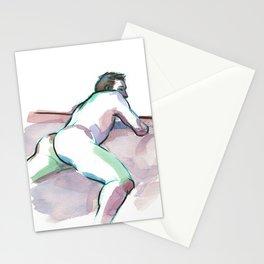 LUKE, Nude Male by Frank-Joseph Stationery Cards
