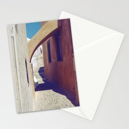 Santorini Walkway III Stationery Cards