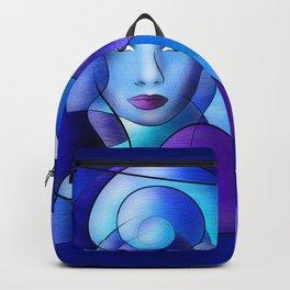Esparamentina - endless blue Backpack