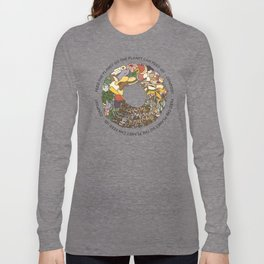 Feed the Planet Composting Wheel Long Sleeve T-shirt