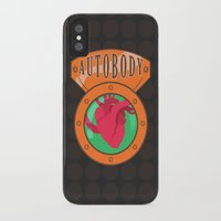 bioshock infinite iPhone & iPod Cases featuring Betterman's Autobody - Bioshock Infinite by Jacob Hansen