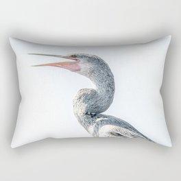Snake Bird: Anhinga Rectangular Pillow