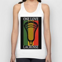 lacrosse Tank Tops featuring Lacrosse OneLove by YouGotThat.com