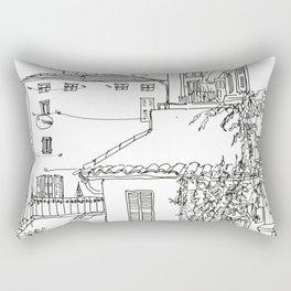 Minimal Line Settlement 1 Rectangular Pillow