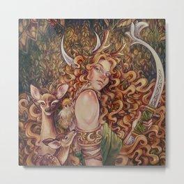 Artemis Metal Print
