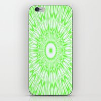 lime green iPhone & iPod Skins featuring Lime by Simply Chic