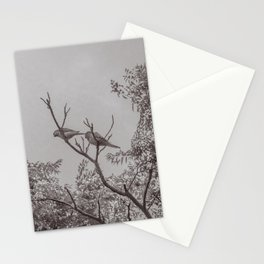 Couple of Parrots in the Top of a Tree Stationery Cards