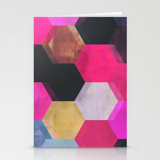 colour + pattern 13 Stationery Cards