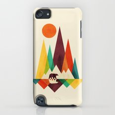 Bear In Whimsical Wild iPod touch Slim Case