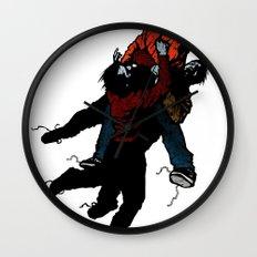 Hold On V2 Wall Clock