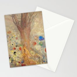 Odilon Redon - Buddah In His Youth Stationery Cards