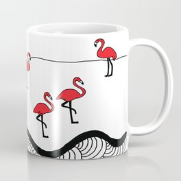 Red flamingos Coffee Mug