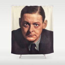 T. S. Eliot, Literary Legend Shower Curtain