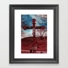 Christ on Cross Framed Art Print