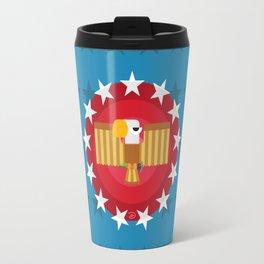 American (Blue) Travel Mug