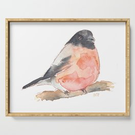 Clarence the Bullfinch Serving Tray