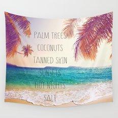 Summer Days, Hot Nights. Wall Tapestry