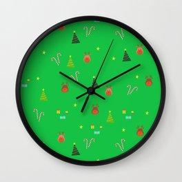 navidad! Wall Clock