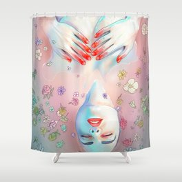 Flower Bath 5 Shower Curtain