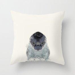 little seal Throw Pillow