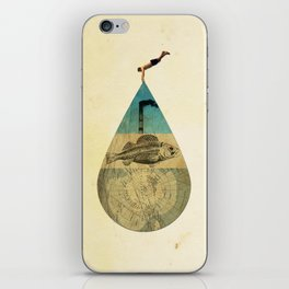 IN THE WATER iPhone Skin