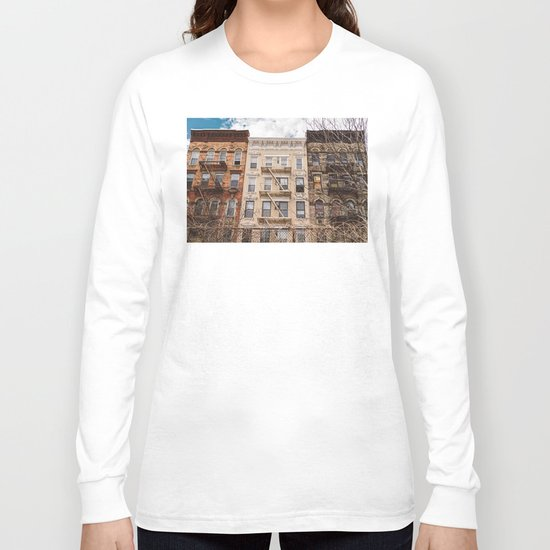 NoLita Architecture Long Sleeve T-shirt