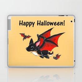 Corgipire Bat (With Text) Laptop & iPad Skin