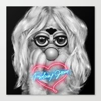 britney spears Canvas Prints featuring Furby Britney Spears - Britney Jean by Furby Living