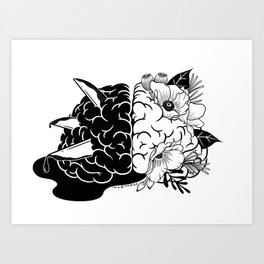 Demon to Some, Angel to Others Art Print