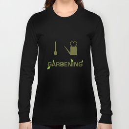 I heart Gardening Long Sleeve T-shirt